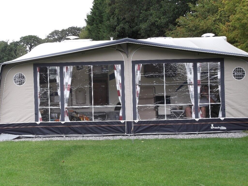Isabella Ambassador Moonlight 1050 Awning 2012 Carbon Poles Only Used