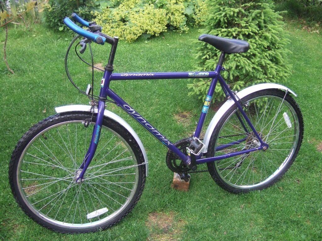 Blue Shimano Dynamix Mountain Bike 21 Frame 26 Wheels