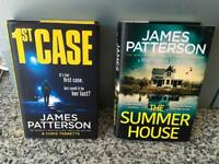 James Patterson hardbacks