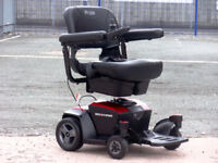 2017 PRIDE GO CHAIR 4MPH - FREE DELIVERY - PORTABLE ELECTRIC WHEELCHAIR - MOBILITY POWER CHAIR