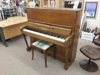 Dark Wood Boyd London Piano and Stool