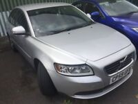 Volvo s40 diesel 2.0 litre diesel. 2010. Mot. Has little front damage to light and panel. Bargain