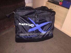 LARGE Matrix (FOX) Ethos Carryall Ethos 55L Carryall *GLU010* Coarse Fishing Luggage