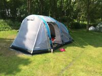 Airgo Horizon 4 inflatable tent with footprint and carpet