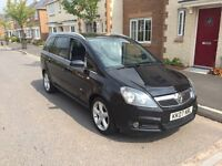 2007 diesel 7 seats 150bhp 6 speed Vauxhall Zafira Sri .fsh,mot may px welcome 1st to see will buy