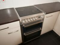 Stainless Steel electric cooker (60cm wide) - £50