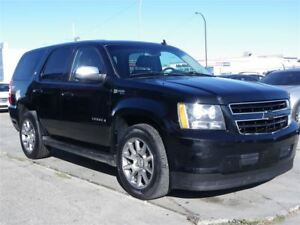 2009 Chevrolet Tahoe Hybrid LT 4X4|GPS|B.CAMERA|DVD|LEATHER|SUNR