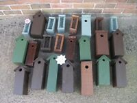 NEW HANDMADE WOODEN BIRD BOXES AND FEEDERS
