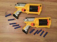 Nerf hand guns