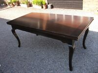 ANTIQUE SELFRIDGES OF LONDON ITALIAN GUIDO ZICHELE LARGE EXTENDING TABLE