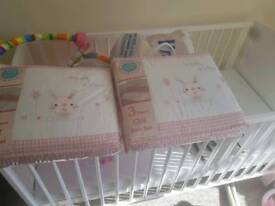 Cot bed set never opened