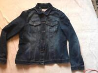 Next ladies jeans jacket size 16 used good condition £6