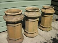 CHIMNEY POTS GOOD CONDITION,ONLY ONE LEFT