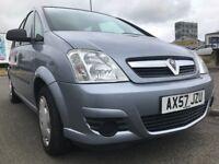 Very low 44,000 mls, Full Yrs MOT, 2008 Vauxhall Meriva 1.6 5dr MPV, Good condition,like Ford C-Max
