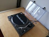 Technics SL-1210MK2 in Mint condition, Ortofon Electro Concord, 2 Technics slipmats