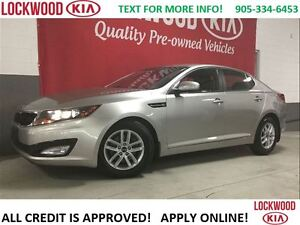 2013 Kia Optima LX- BLUETOOTH, HEATED SEATS, KEYLESS ENTRY