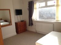 Large room for rent in shared house