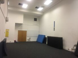 Large studio available for hire in west London Hammersmith
