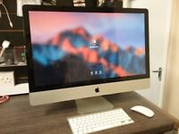 APPLE iMAC - Mid 2011 / Core i5 / 8GB RAM / 1TB HDD / OS SIERRA