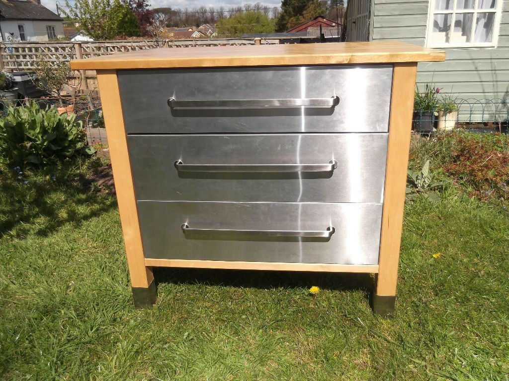 Stainless Steel Kitchen Base Unit