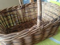 Wicker basket. Picnic?