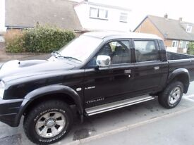 MITSUBISHI L 200 DOUBLE CAB PICK UP 93000miles (bargain be quick)