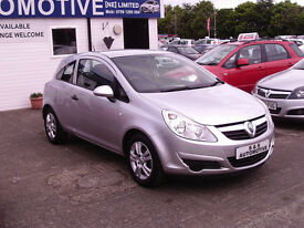 CORSA ACTIVE 1229cc LOW MILEAGE 12 MONTHS M.O.T 6 MONTHS WARRANTY (FINANCE AVAILABLE)