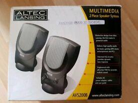 Great condition Altec Lansing speakers