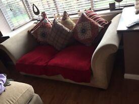 DFS x2 3 seater sofas