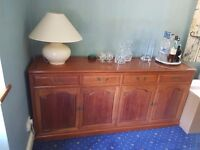 Solid rosewood sideboard for sale