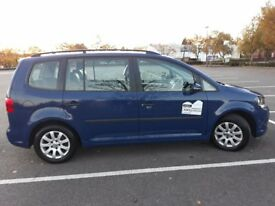 Rossendale taxi vw touran 2011