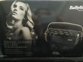 Babyliss ceramic hair rollers.