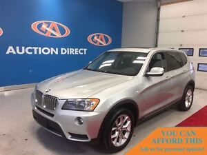 2013 BMW X3 28i HUGE SUNROOF! LEATHER! FINANCE NOW!