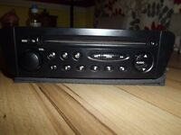 Original Citroen xsara picasso CD radio player