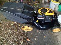 petrol selfdrive lawnmower
