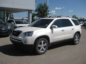 2012 GMC Acadia SLT-AWD-Leather-Sunroof-Back UP CAM
