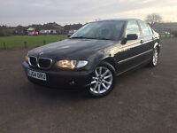 BMW 318i 54 PLATE IN VGC PANTHER BLACK 318 2.0