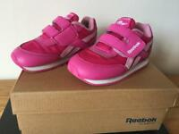 Girls Reebok infant trainers pink size 7