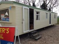 Family holiday home static caravan for sale pitch fees and connections included