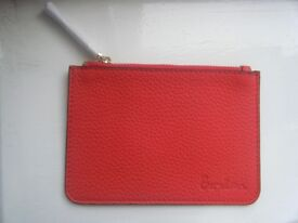 BODEN RED COIN PURSE - NEW