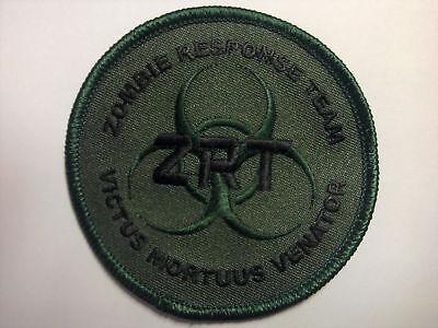Zombie Response Team Green/Black Patch