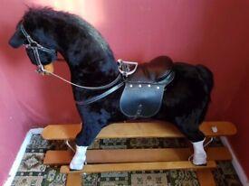 *SOLD*Large rocking horse