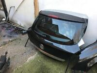 Vauxhall Astra 3 door black tailgate 2006 to 2010 model