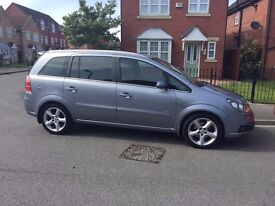 Vauxhall Zafira 1.8 Petrol Low mileage in Immaculate Condition.