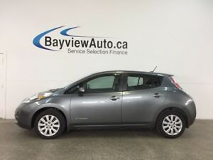 2015 Nissan LEAF S - ELECTRIC! HTD SEATS! REVERSE CAM! BLUETO...