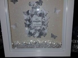 Bling picture frames