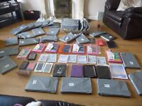 Tablet Cases x 60 ( IPAD ) & Phone Cases Job Lot for Market or Car Boot Sale Traders