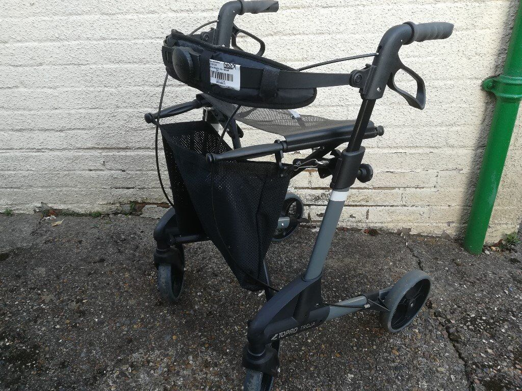 4 wheel walking aid for sale.