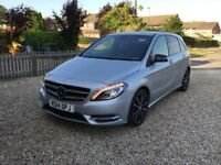 Mercedes B class 180 cdi Blueffiency Sport, 6 speed manual.