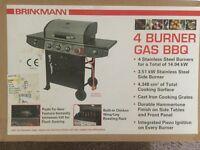 Brand New Still In the Box 4 Gas Burner BBQ